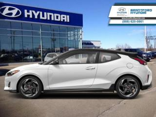 Used 2020 Hyundai Veloster Turbo Manual w/Sandstorm Leather  - $162 B/W for sale in Brantford, ON