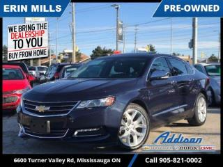 Used 2018 Chevrolet Impala Premier  NAVI|PANORAMIC SUNROOF|LOADED! for sale in Mississauga, ON