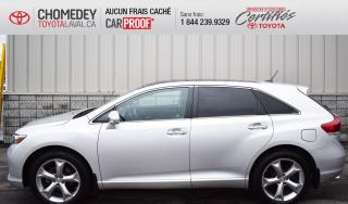 Used 2013 Toyota Venza V6, AWD, CUIR, TOIT OUVRANT, GPS, CAMERA DE RECUL for sale in Laval, QC