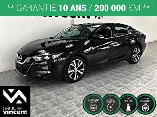 Used 2018 Nissan Maxima SV ** GARANTIE 10 ANS ** Véhicule luxueux! for sale in Shawinigan, QC