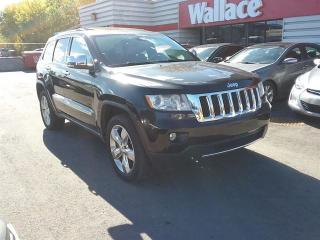 Used 2012 Jeep Grand Cherokee Overland 4WD Panoramic sunroof for sale in Ottawa, ON