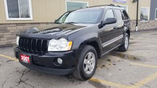 Used 2007 Jeep Grand Cherokee Laredo-4X4-LOCAL TRADE-CHROME WHEELS for sale in Tilbury, ON