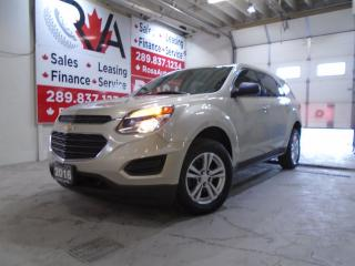 Used 2016 Chevrolet Equinox AUTO NO ACCIDENT B-TOTH B-CAMERA  4CYL GAS SAVER for sale in Oakville, ON