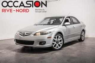 Used 2008 Mazda MAZDA6 GT V6 Cuir-Toit-Mags+++ for sale in Boisbriand, QC
