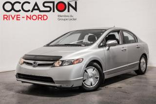 Used 2007 Honda Civic Hybride Automatique for sale in Boisbriand, QC
