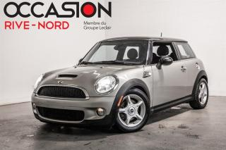 Used 2008 MINI Cooper S--Automatique Gar. 1 AN for sale in Boisbriand, QC