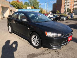 Used 2012 Mitsubishi Lancer SE for sale in York, ON