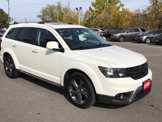 2015 Dodge Journey CROSSROAD ** HTD LEATH, BACKUP CAM **