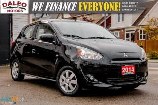 Used 2014 Mitsubishi Mirage SE | HEATED SEATS | POWER WINDOWS AND LOCKS | for sale in Hamilton, ON