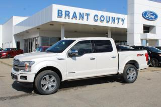 New 2019 Ford F-150 PLATINUM for sale in Brantford, ON