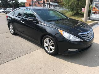 Used 2012 Hyundai Sonata LTD,LEATHER,NAV,SAFETY+3YEARS WARRANTY INCLUDED for sale in Toronto, ON