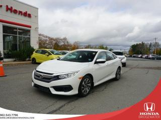 Used 2016 Honda Civic EX - Lease Buyback - Sunroof for sale in Bridgewater, NS