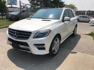 Used 2014 Mercedes-Benz ML 350 BLUETEC,57K,,SAFETY+3YEARS WARRANTY INCLUDED for sale in Toronto, ON