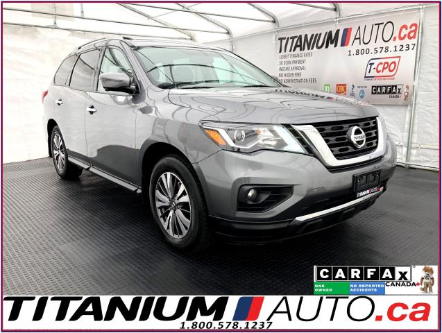 2017 Nissan Pathfinder SL+AWD+GPS+360 Camera+Pano Roof+Leather+Blind Spot