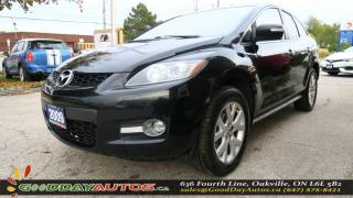 Used 2009 Mazda CX-7 GS|NO ACCIDENT|LEATHER|SUNROOF|BLUETOOTH|CERTIFIED for sale in Oakville, ON
