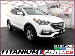 Used 2018 Hyundai Santa Fe Sport Luxury+AWD+GPS+Pano Roof+Camera+Leather+Apple Play for sale in London, ON