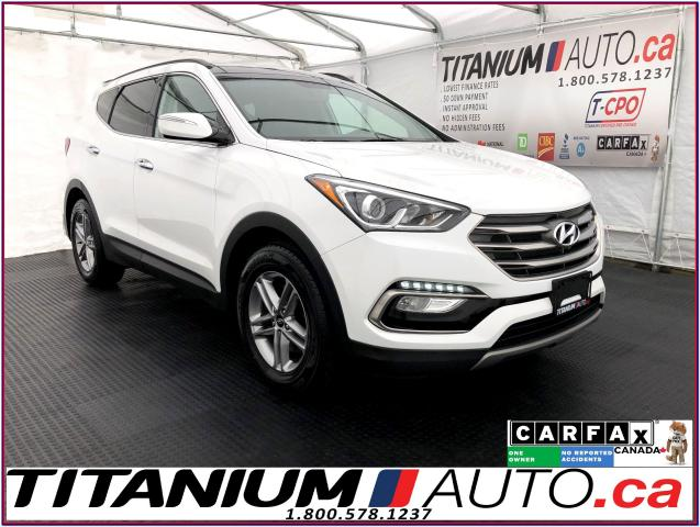 2018 Hyundai Santa Fe Sport Luxury+AWD+GPS+Pano Roof+Camera+Leather+Apple Play