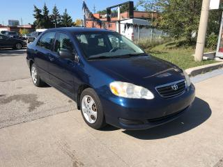 Used 2006 Toyota Corolla SHIPPER'S SPECIAL,POWER WINDOWS,AUTO,244KM for sale in Toronto, ON