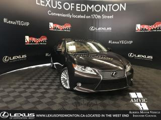 Used 2015 Lexus ES 350 EXECUTIVE PACKAGE for sale in Edmonton, AB