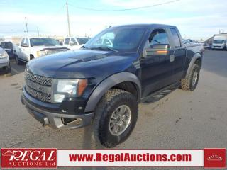 Used 2010 Ford F-150 RAPTOR SUPERCAB 4WD for sale in Calgary, AB