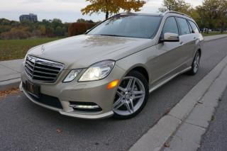 Used 2012 Mercedes-Benz E-Class E350 WAGON / AMG PACKAGE / NO ACCIDENTS / STUNNING for sale in Etobicoke, ON
