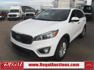 Used 2017 Kia Sorento LX 4D Utility AT AWD 2.4L for sale in Calgary, AB