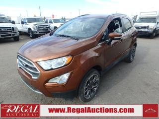 Used 2018 Ford ECOSPORT TITANIUM 4D UTILITY AWD 2.0L for sale in Calgary, AB