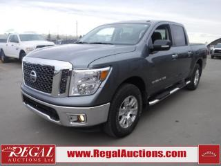 Used 2018 Nissan TITAN SV 4D CREW CAB 4WD 5.6L for sale in Calgary, AB