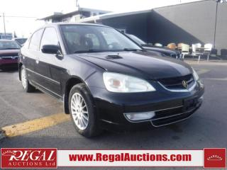 Used 2002 Acura EL Limited 4D Sedan for sale in Calgary, AB