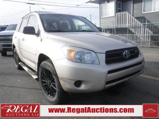 Used 2006 Toyota RAV4 Base 4D Utility AWD for sale in Calgary, AB