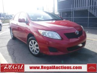Used 2010 Toyota Corolla CE 4D Sedan for sale in Calgary, AB