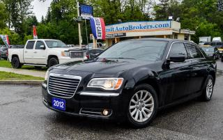 Used 2012 Chrysler 300 TOURING BASE/BLUETOOTH/DUAL CLIMATE CONTROL/TILT for sale in Richmond Hill, ON
