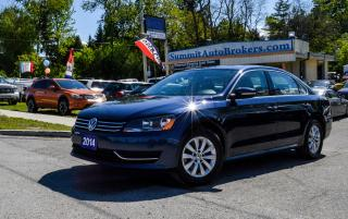 Used 2014 Volkswagen Passat PASSAT TSI TRENDLINE/HEATED SEATS/AUX/CD PLAYER for sale in Richmond Hill, ON