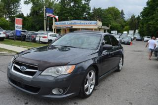 Used 2008 Subaru Legacy 2008 Subaru Legacy - 4dr Sdn Auto 2.5i w-Limited P for sale in Richmond Hill, ON