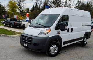 Used 2018 RAM ProMaster 2500, HIGH-ROOF 136