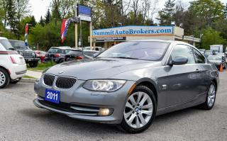 Used 2011 BMW 328xi COUPE/SUNROOF/H. SEATS/H. STEERING/BLUETOOTH/TILT for sale in Richmond Hill, ON
