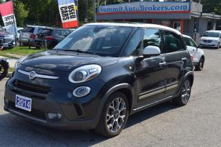 Used 2014 Fiat 500L TREKKING/FWD/CAR-FAX CLEAN/HEATED SEATS/SUNROOF for sale in Richmond Hill, ON