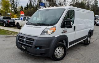 Used 2014 RAM 1500 ProMaster LOW ROOF 136 W.B./FWD/P.W., P.L., P.M./CRUISE for sale in Richmond Hill, ON