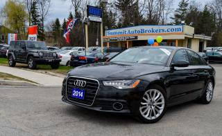 Used 2014 Audi A6 TDI TECHNIK/DRIVE ASSIST PKG/WOOD TRIM PKG/LOADED for sale in Richmond Hill, ON