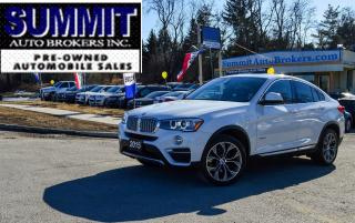 Used 2015 BMW X4 35i SPORT/AWD/CAR-FAX CLEAN/SUNROOF/BLUETOOTH for sale in Richmond Hill, ON
