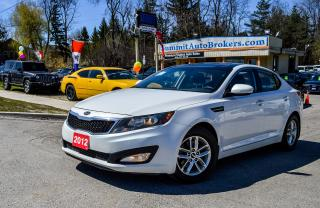 Used 2012 Kia Optima LX+/CAR-FAX CLEAN/PANO ROOF/BLUETOOTH/H. SEATS for sale in Richmond Hill, ON