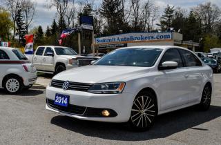 Used 2014 Volkswagen Jetta TDI HIGHLINE/NAVI/CAMERA/SUNROOF/BLUETOOTH for sale in Richmond Hill, ON