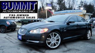 Used 2011 Jaguar XF PREMIUM LUXURY/NAVI/SUNROOF/CAMERA/BLUETOOTH for sale in Richmond Hill, ON