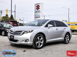 Used 2014 Toyota Venza Limited AWD ~Heated Leather ~Power Moonroof for sale in Barrie, ON