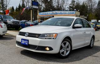 Used 2012 Volkswagen Jetta TDI COMFORTLINE/CAR-FAX CLEAN/HEATED SEATS/TILT for sale in Richmond Hill, ON
