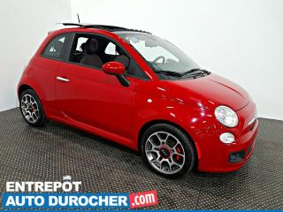 Used 2012 Fiat 500 Sport TOIT OUVRANT - AIR CLIMATISÉ - Cuir for sale in Laval, QC