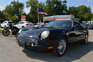 Used 2002 Ford Thunderbird Convertible for sale in Richmond Hill, ON