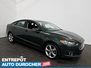 Used 2015 Ford Fusion SE NAVIGATION - Toit Ouvrant - AIR CLIMATISÉ for sale in Laval, QC