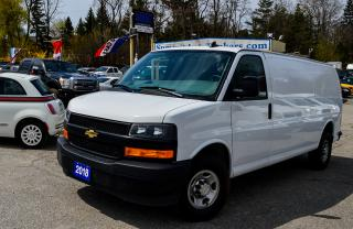 Used 2018 Chevrolet Express 2500 ONTARIO VEHICLE/CAMERA/FACTORY WARRANTY for sale in Richmond Hill, ON