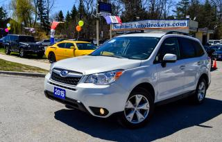 Used 2015 Subaru Forester CONV. PKG/AWD/CAMERA/HEATED SEATS/BLUETOOTH for sale in Richmond Hill, ON
